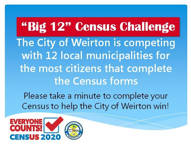 Big 12 Census Competition Flier