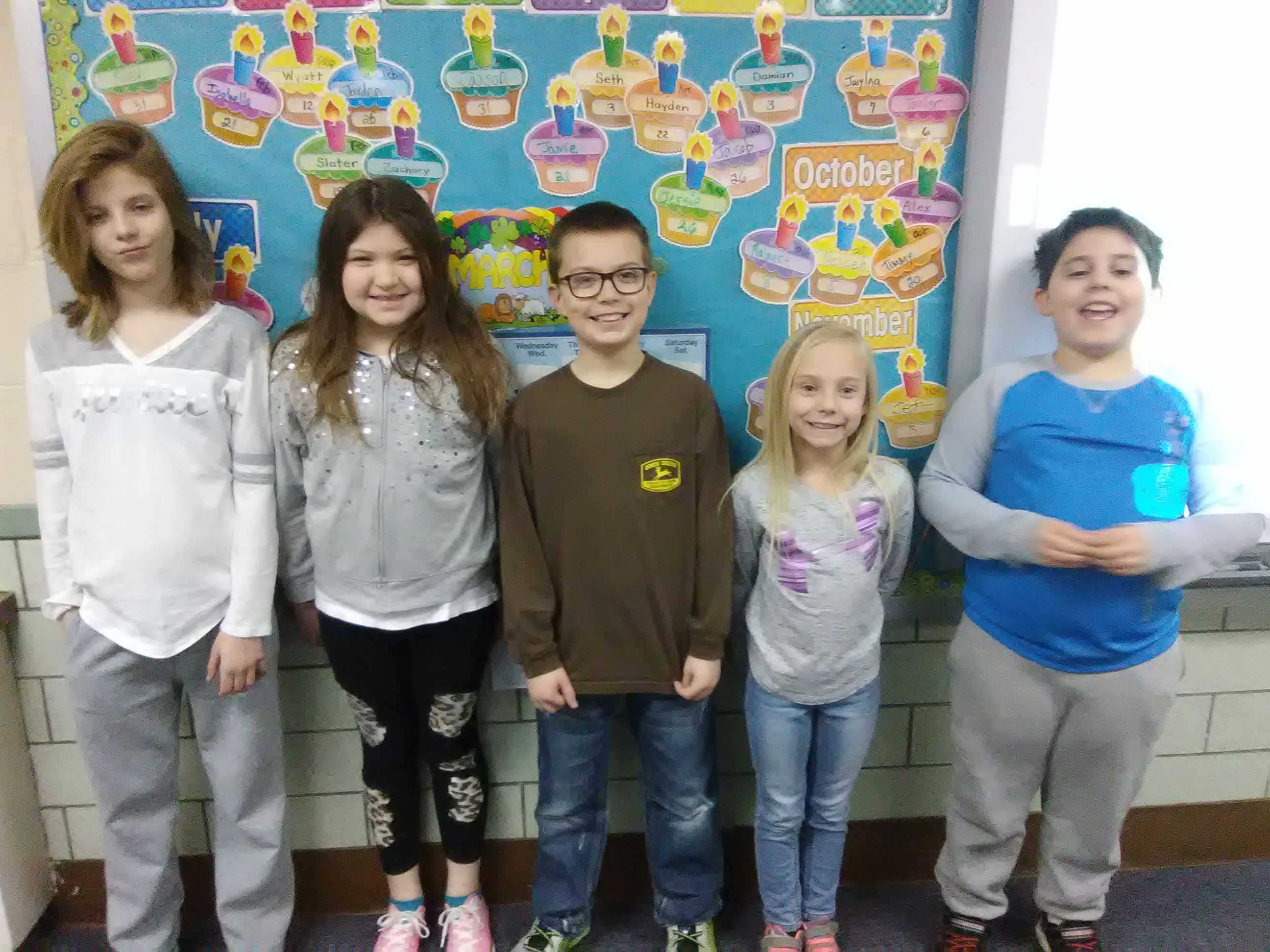 FF Pen Pal Club 2017 Wellsburg Elem