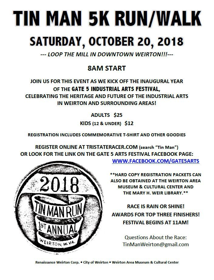 Tin Man 5K Flyer